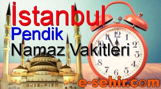 Pendik Namaz Saatleri Aylik Istanbul Pendik Namaz Vakitleri